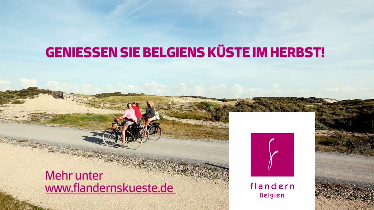 Screenshot Küstenvideo Flanderns Küstenvielfalt im Herbst